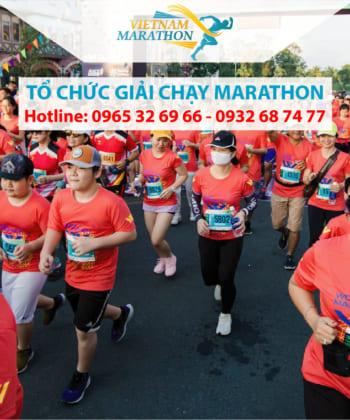 Dịch vụ tổ chức giải chạy bộ marathon chuyên nghiệp