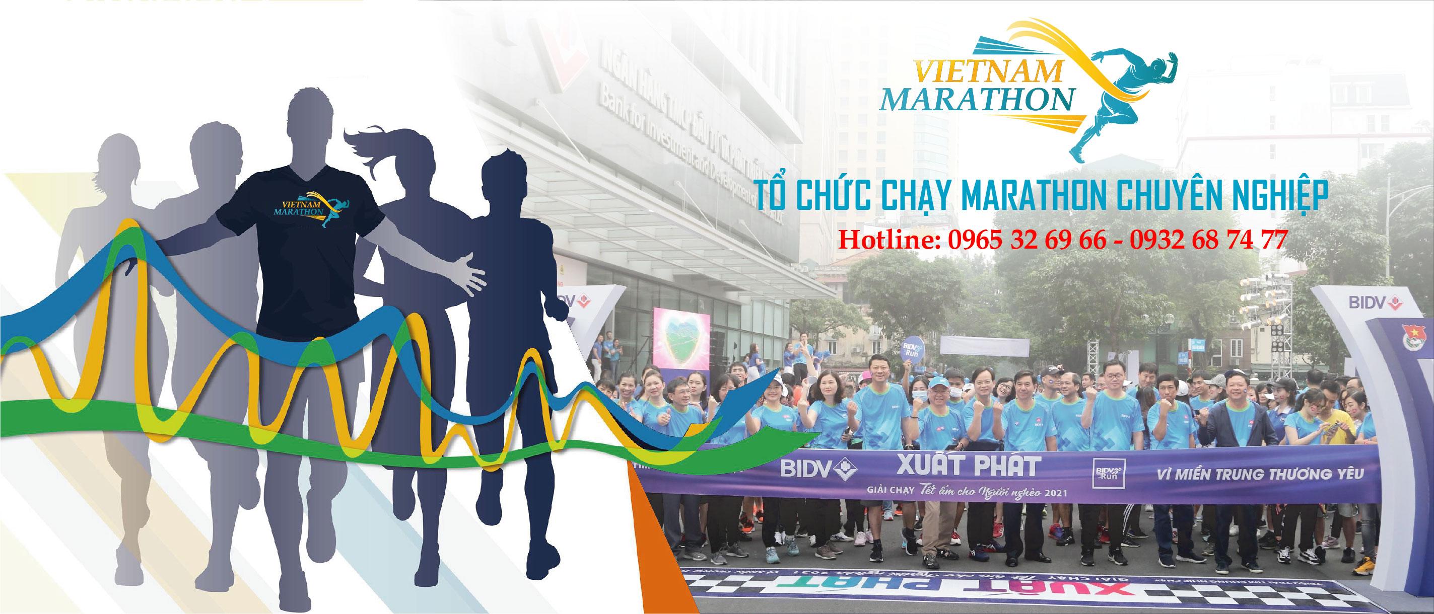 Tổ chức chạy marathon chuyên nghiệp