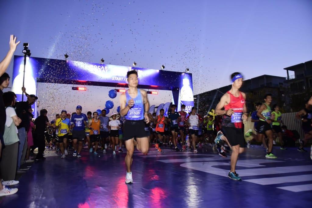 tổ chức chạy marathon 21
