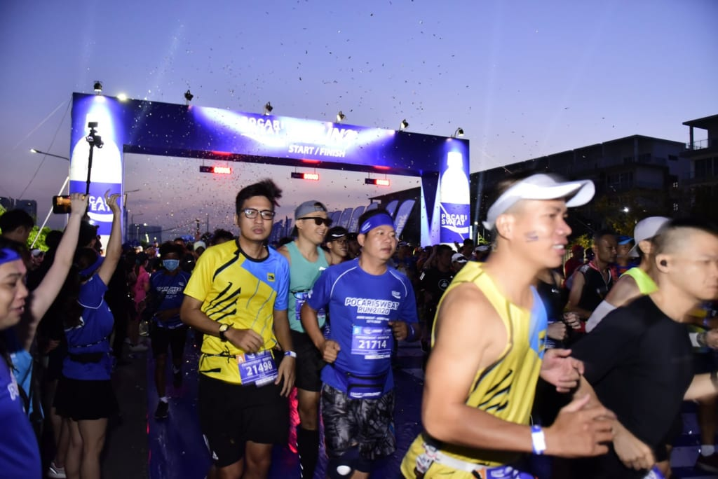 tổ chức chạy marathon 22