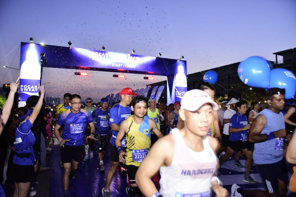 tổ chức chạy marathon 7 1