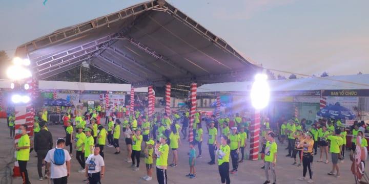 Tổ chức giải chạy marathon chuyên nghiệp tại Long An