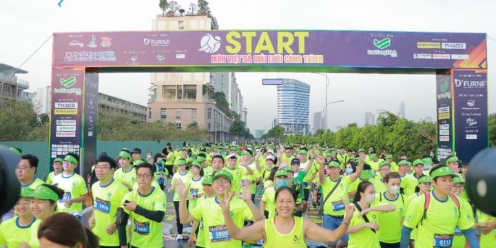 Tổ chức giải chạy marathon chuyên nghiệp tại Sóc Trăng
